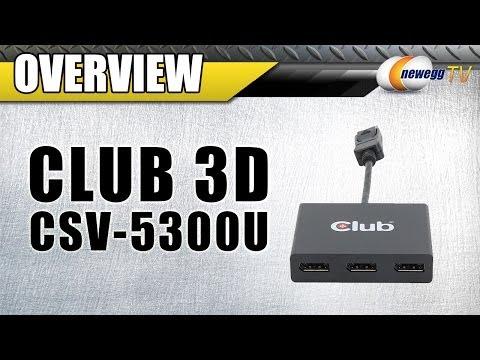 Club3D SenseVision - Multi Stream Transport Hub Overview - Newegg TV