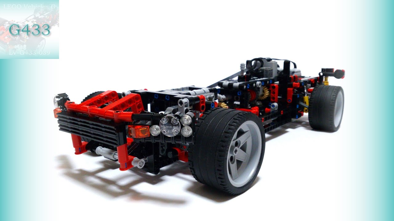Rc Car With New 4 Speed Manual Transmission And More Lego Technic