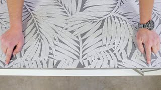 Poser du papier peint avec raccord sauté