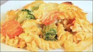 Cheesy Pasta Primavera!!