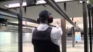 Gun Training At Rcmp Depot Division