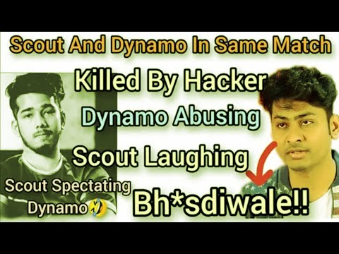 #Dynamo #Scout Dynamo And Scout Killed By Mobile Hacker | Scout Laughing And Watch Dynamo Stream