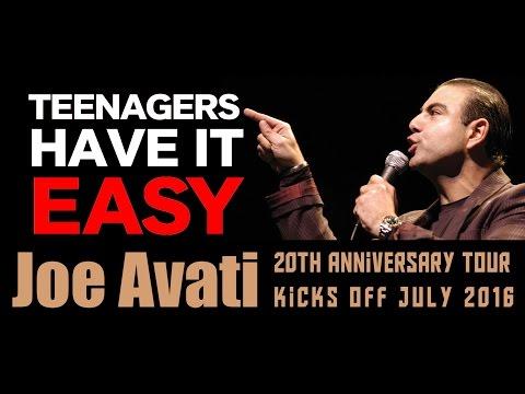 TEENAGERS Didn't Cop What We Copped | Joe Avati: LIVE (DVD)