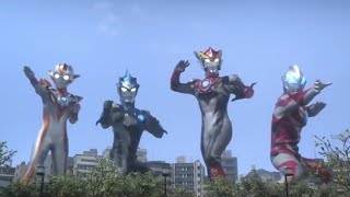Ultraman Rosso Blu The Movie!!Kizuna No Crystal Preview ScanImages
