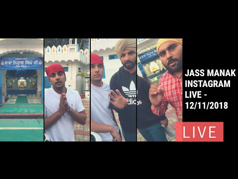 Jass Manak Instagram LIVE for Avvy Dhaliwal Boss song controversy -  12/11/2018