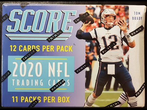 panini-2020-score-nfl-football-blaster-box-break-and-review