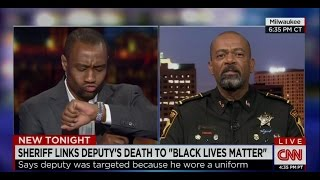 Watch: Sheriff Clarke Battles Marc Lamont Hill over 'Vile, Vulgar, Slimy' Black Lives Matter Moveme