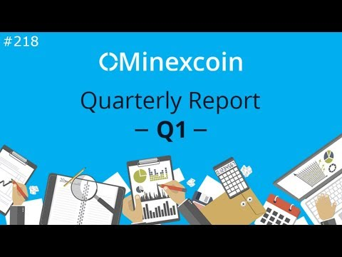 MinexCoin 2018 Q1 Report - Daily Deals: #218