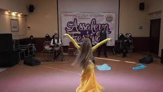 Gonchar Polina- ARABIA dance club, el toba with Khayam orchestra