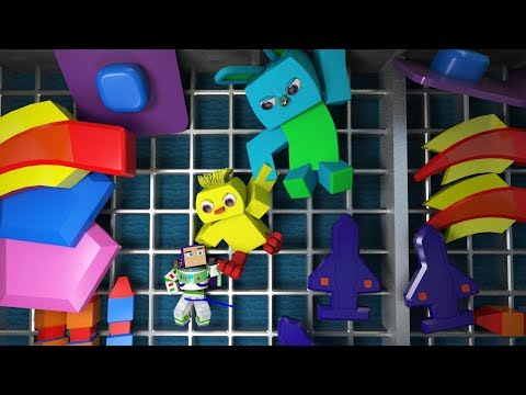 Toy Story 4 Big Game Ad Minecraft Animation