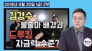 2부 드루킹에 기사 주소 10개 보낸 김경수 출마 청와대가 시켰나. 드루킹의 자금력 어디서? [정치분석] (2018.04.20)