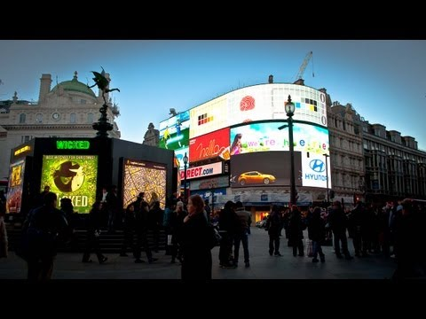 Piccadilly Circus: Central London's Time Square