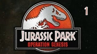 Jurassic Park Operation Genesis (PC) - Episode 1: Groundbreaking