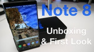 Note 8 - Unboxing and First Setup