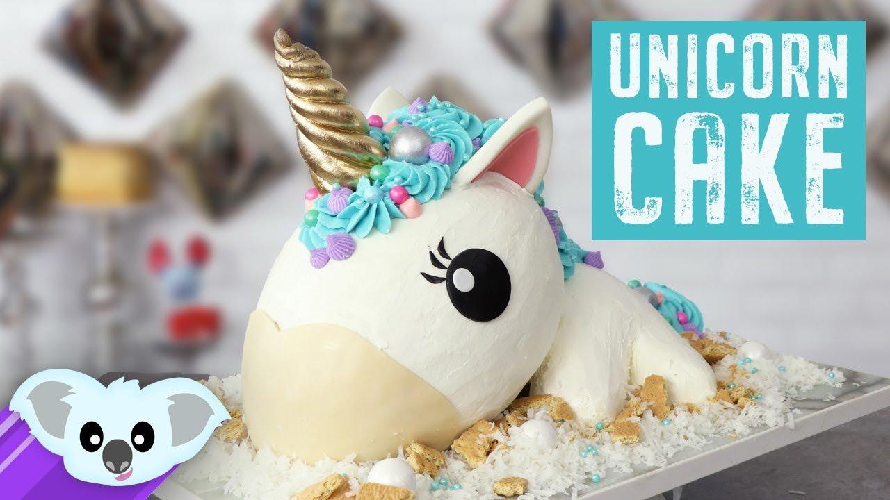 The Ultimate Unicorn Cake Unicorn Party Ideas How To Diy Youtube