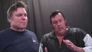 ''THE GENIUS'' LEAPING LANNY POFFO AND HONKY TONK MAN ON ''MACHO MA...