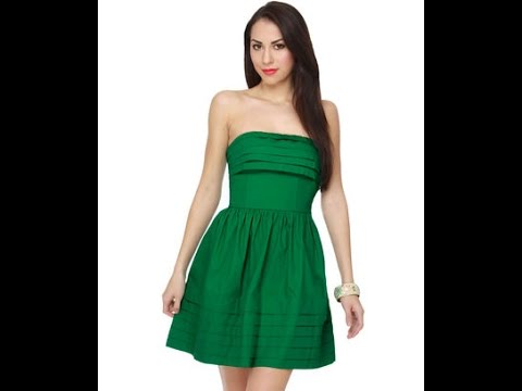 7b06e29a45e2f اشيك واجمل فساتين سهرة قصيرة اخضر جديدة 2016 - 2017 - Beautiful short  evening dresses new Green