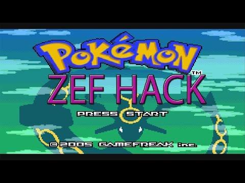 POKEMON ZEF HACK [NO HEALING ITEMS EMERALD HACK COMMENTATED SPEED RUN]