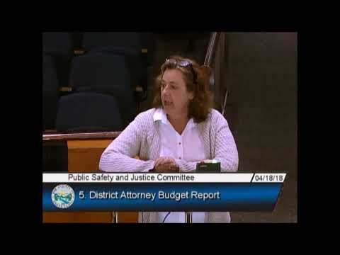 Susan Bassi calls out DA Jeff Rosen miuse of Public Funds and Failure to Support Victims