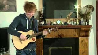 Ed Sheeran - Wake Me Up Live On UStream