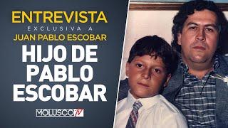 """Juan Pablo Escobar """"A Los 7 Años Mi Padre Me Confesó Que Era Un Criminal 😳"""