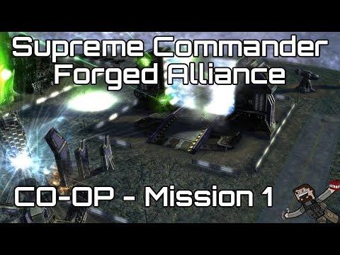 Supreme Commander: Forged Alliance - CO-OP - Mission 1 (Hard)