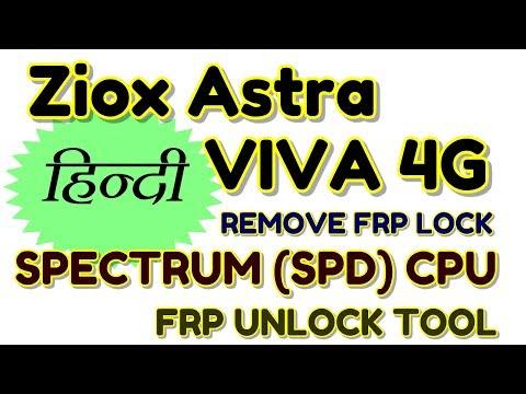 How to remove frp lock Ziox Astra VIVA 4G | Hindi - हिंदी