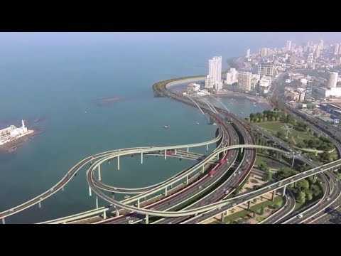 Mumbai Coastal Road Project | Navi Mumbai International Airport Plan | Magnetic Maharashtra 2018