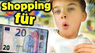 Was kauft ein 8 Jähriger für 20€ im Action Markt 🎁 ? SPIELZEUG SHOPPING mit Lulu & Leon