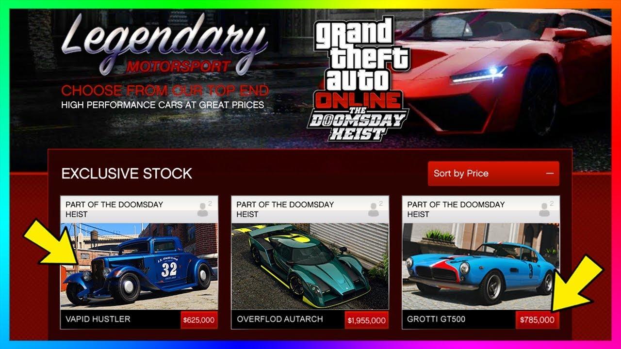 Gta Online Doomsday Heist Dlc Unreleased Cars Vehicles