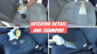 Cleaning and Extracting Dirty Car Interiors - Compilation #3