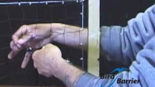 Bird Barrier: Bird Net Patch Repair