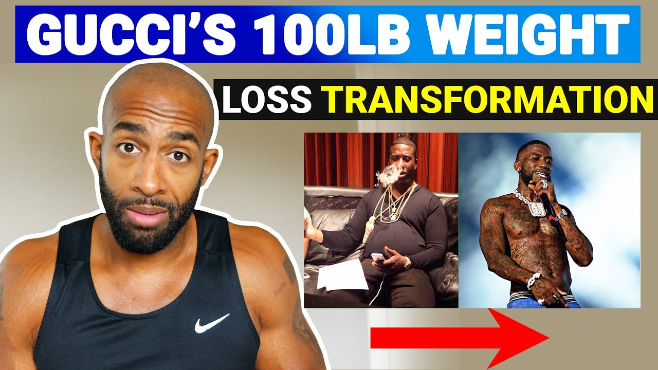 Gucci Mane's 100lb Weight Loss - What Makes Him Different
