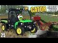 MULTITASKING & JD GATOR  | Farming Simulator 17 | GreenRiver - Episode 25