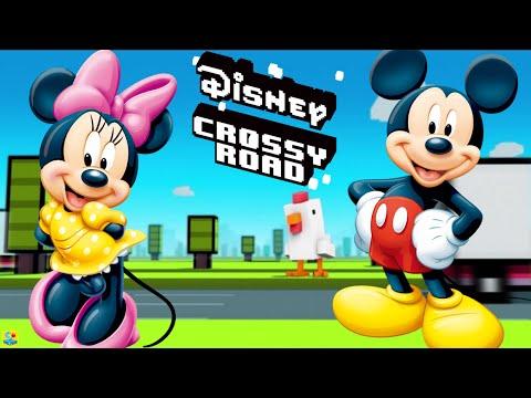Disney Crossy Road Unlock Secrect Character Moartimer from Disney Mickey Mouse & Friends