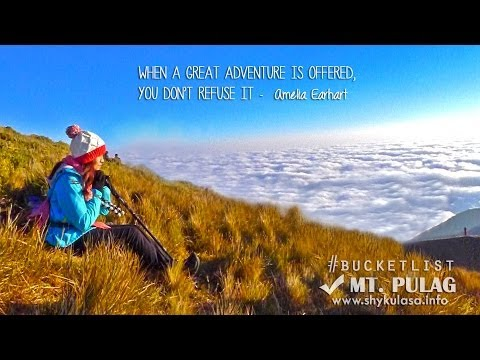 MT. PULAG : THIS WAY TO THE CLOUDS ☁☁☁