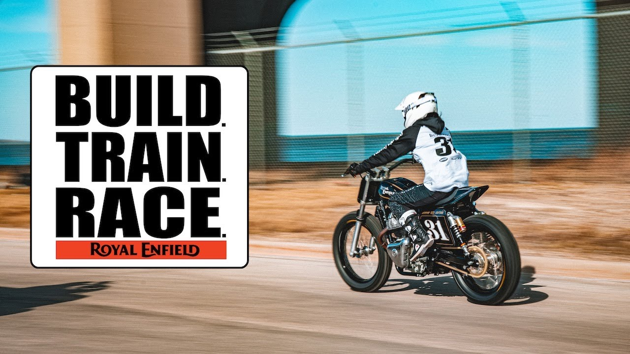 Royal Enfield: Build Train Race