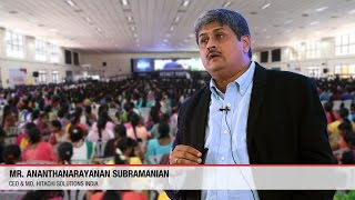 Ananthanarayanan Subramaniam | Hitachi Solutions India | ICTACT Youth Summit 2015
