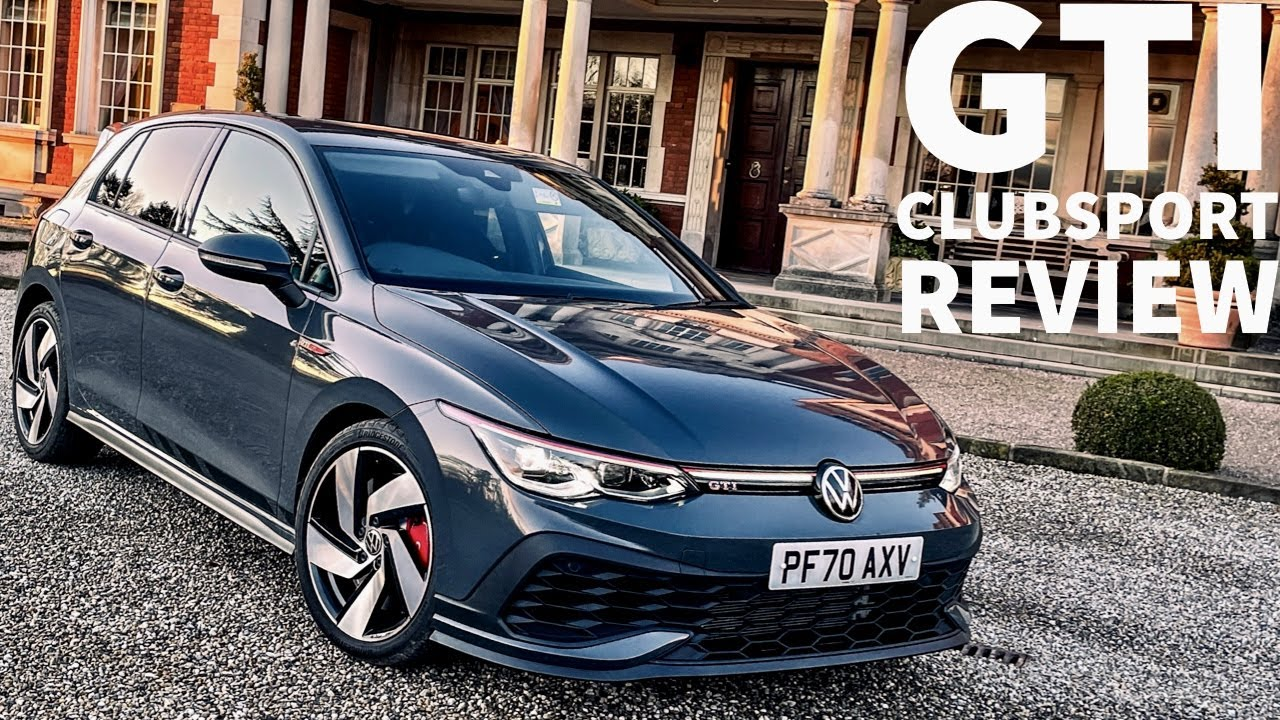 2020 Golf Gti Clubsport Mk 8 Full Walk Around And First Impression Review Youtube