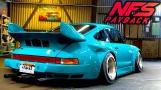 Need for Speed Payback: PORSCHE 911 CARRERA RWB DRIFT BUILD CUSTOMIZATION