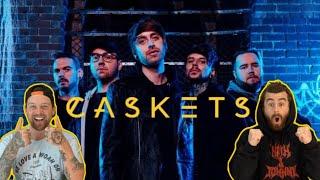 "CASKETS ""Drowned In Emotion"" | Aussie Metal Heads Reaction"