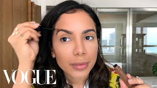 Brazilian Mega-Star Anitta Does Her Glamorous Day-to-Night Beauty Routine | Beauty Secrets | Vogue