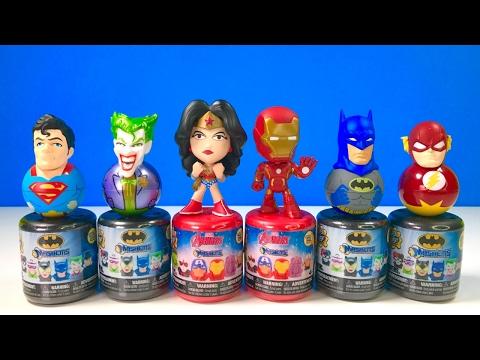 Batman and Avengers New Mashems! Wonder Woman,...
