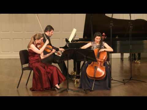 Trio Appassionata plays Ravel Piano Trio in A minor