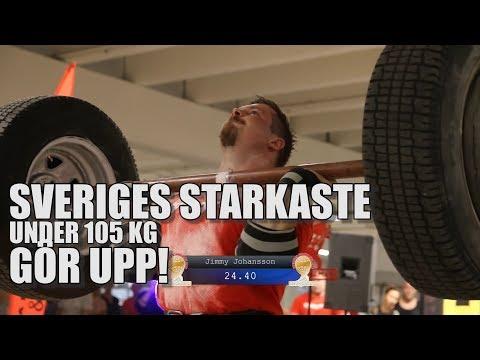 SM-final Strongman -105 kg 2017