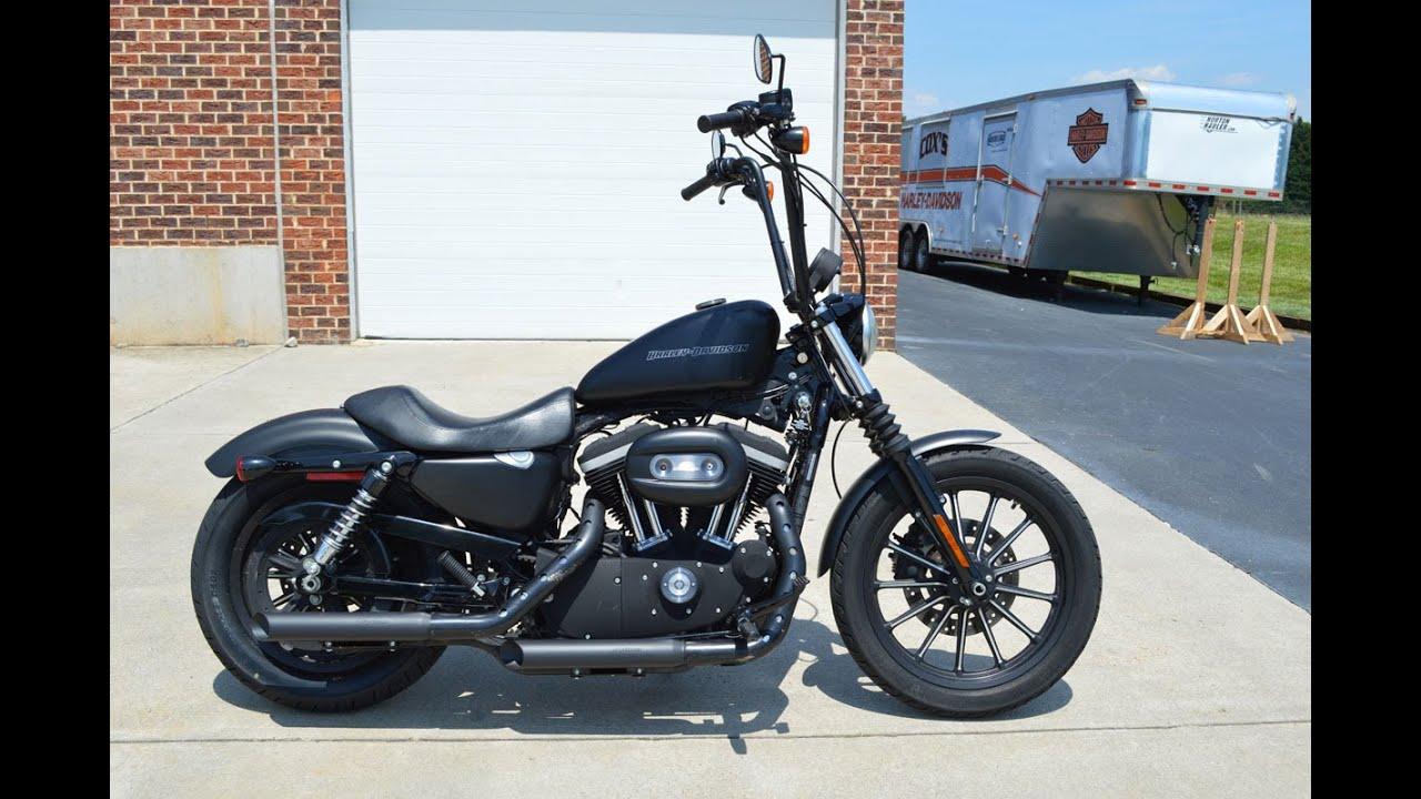 Harley Davidson Iron 833 >> SOLD! 2009 Harley-Davidson® XL883N - Sportster® Iron 833 ...