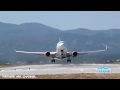 Very late take off  Overloaded airplanes  Short runway ...