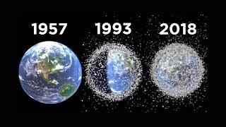 КОСМИЧЕСКИЙ МУСОР: 1957 - 2018, КАК НАМ ЕГО УБРАТЬ?