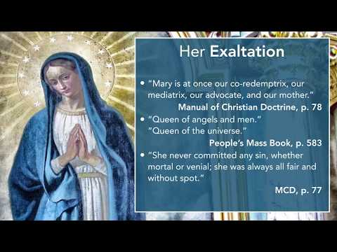 Departures from the Faith: Adoration of Mary