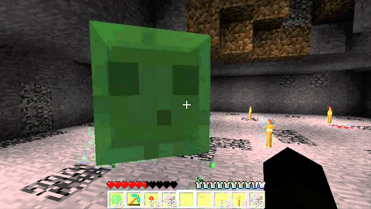 Minecraft tutorial how to spawn slimes youtube ccuart Image collections